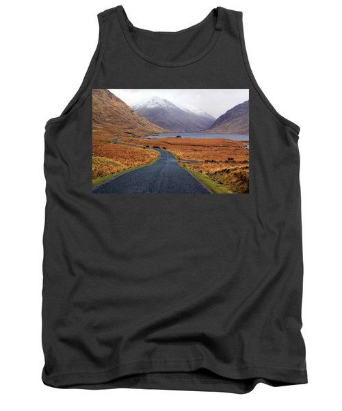 The Road In Tank Top