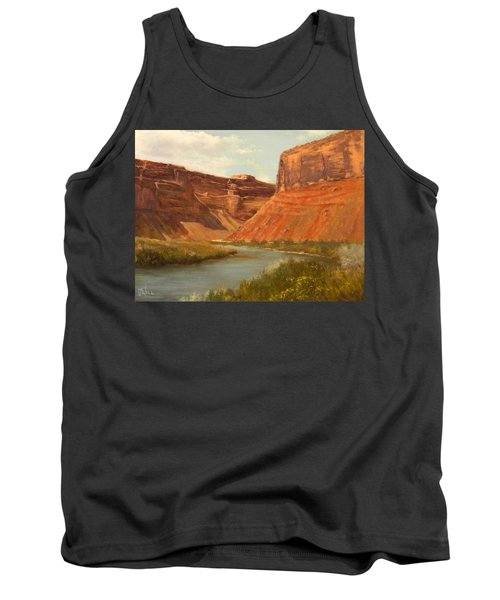 The Road To Moab Tank Top