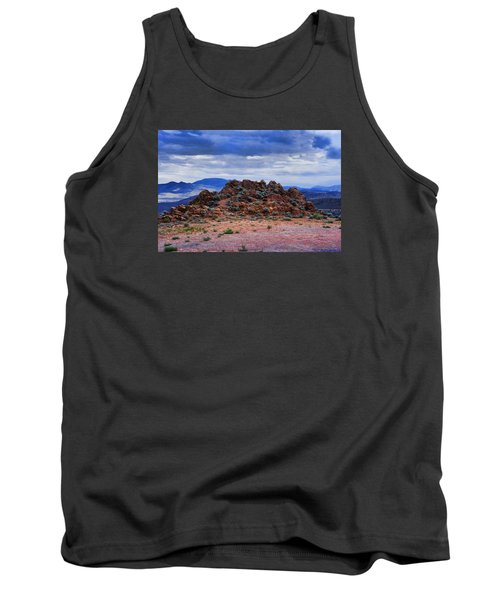Tank Top featuring the photograph The Rock Stops Here by B Wayne Mullins