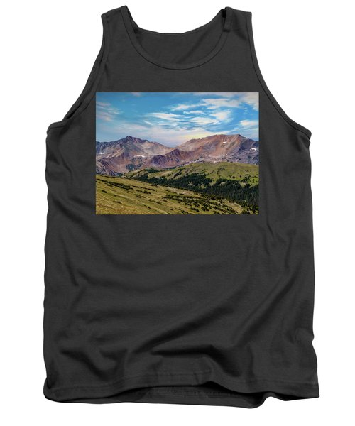 Tank Top featuring the photograph The Rockies by Bill Gallagher