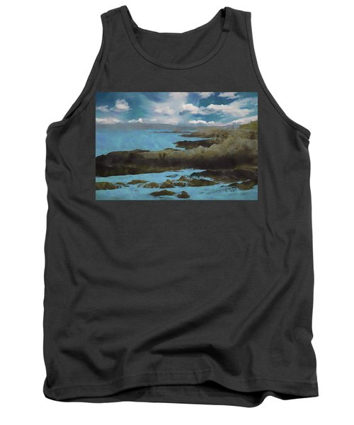 The Rocky Maine Coast. Tank Top