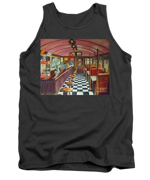 The Rose Diner Tank Top