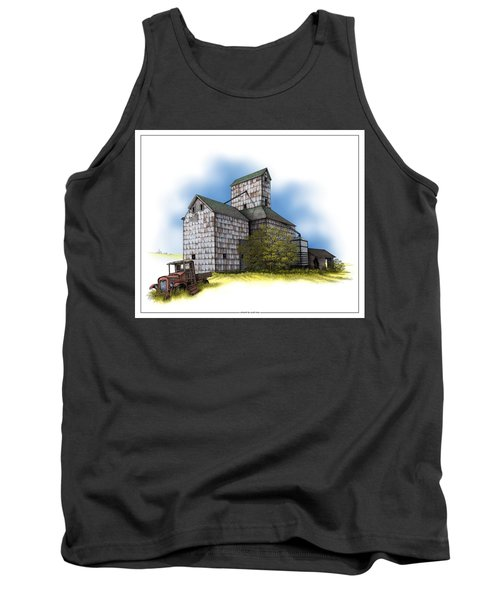 The Ross Elevator Autumn Tank Top