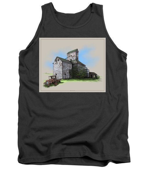 The Ross Elevator Version 5 Tank Top