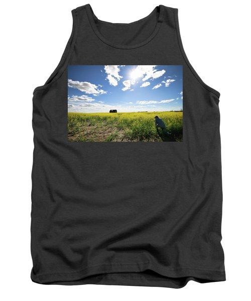 The Saskatchewan Prairies Tank Top