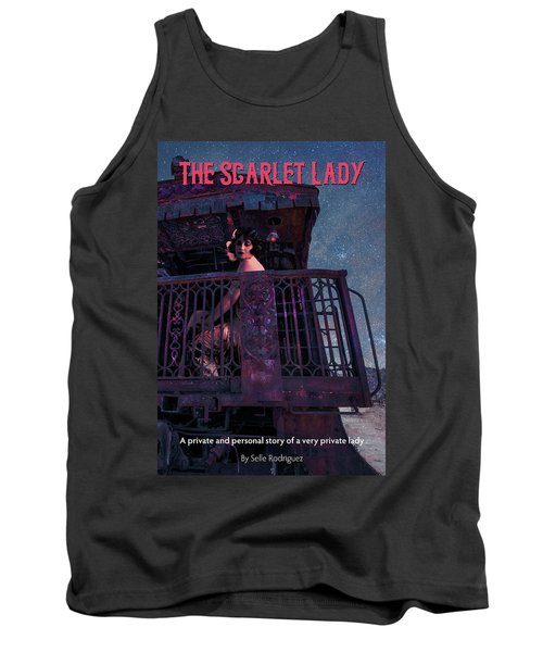 The Scarlet Lady Book Cover Tank Top