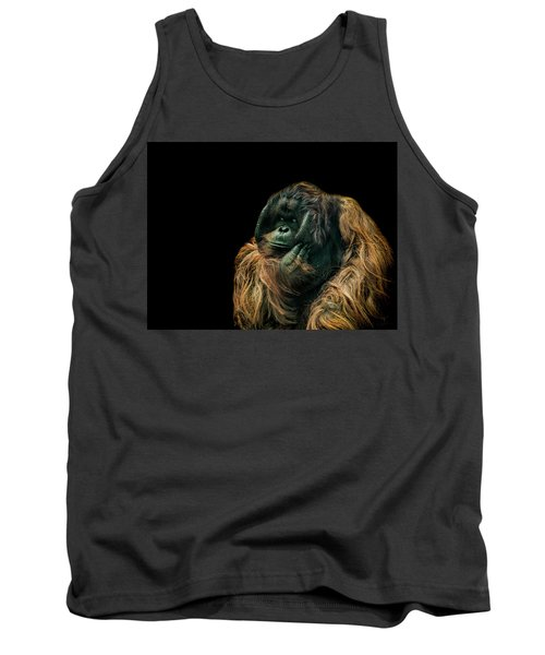 The Sceptic Tank Top by Paul Neville