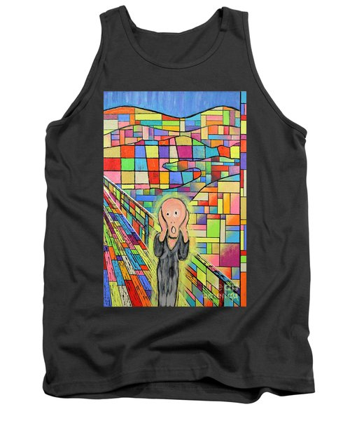 The Scream Jeremy Style Tank Top