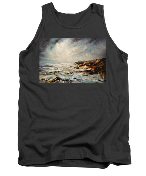 The Sea  Tank Top by AmaS Art