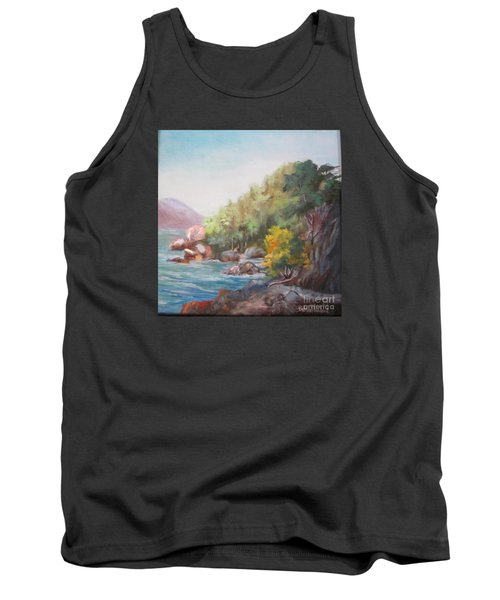 The Sea And Rocks Tank Top