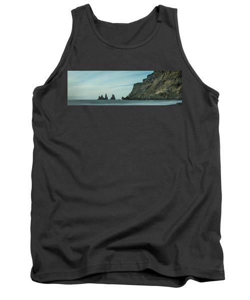 The Sea Stacks Of Vik, Iceland Tank Top