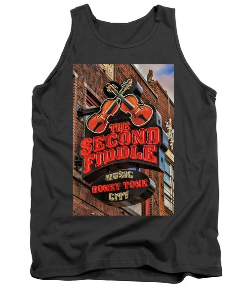 Tank Top featuring the photograph The Second Fiddle Nashville by Stephen Stookey