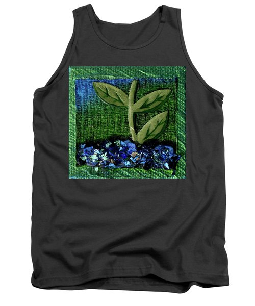 The Seedling Tank Top by Donna Blackhall