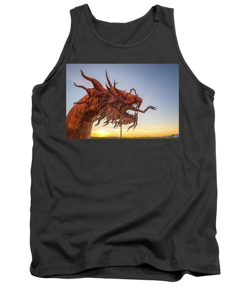 The Serpent At Sunrise #3 Tank Top