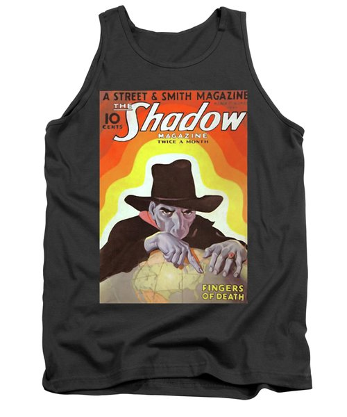 The Shadow Fingers Of Death Tank Top