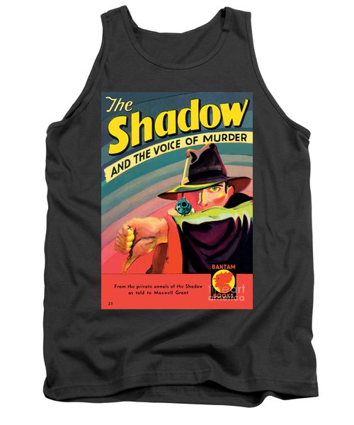 Tank Top featuring the painting The Shadow by George Rozen