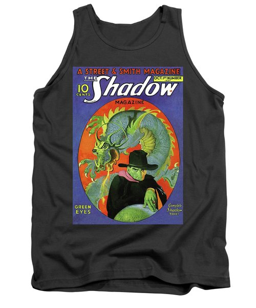 The Shadow Green Eyes Tank Top