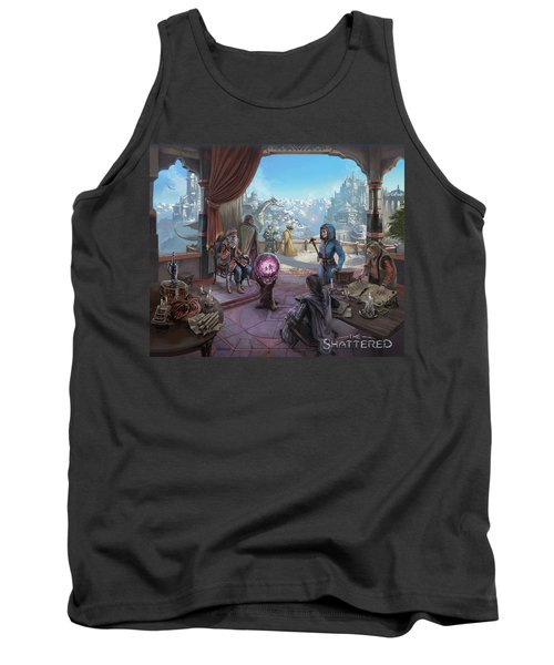The Shattered Tank Top