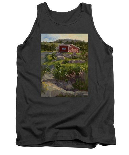 The Shed Tank Top by Jane Thorpe