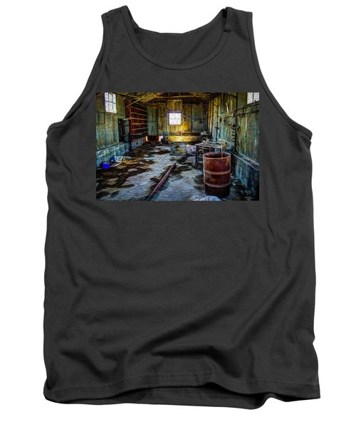 The Sheddwact Secrets Tank Top