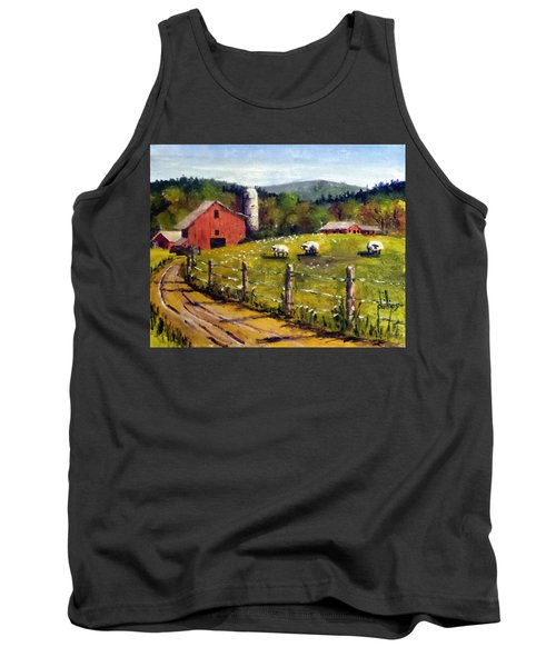 The Sheep Farm Tank Top by Jim Phillips