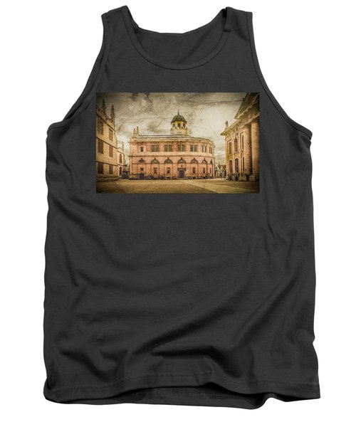 Oxford, England - The Sheldonian Theater Tank Top