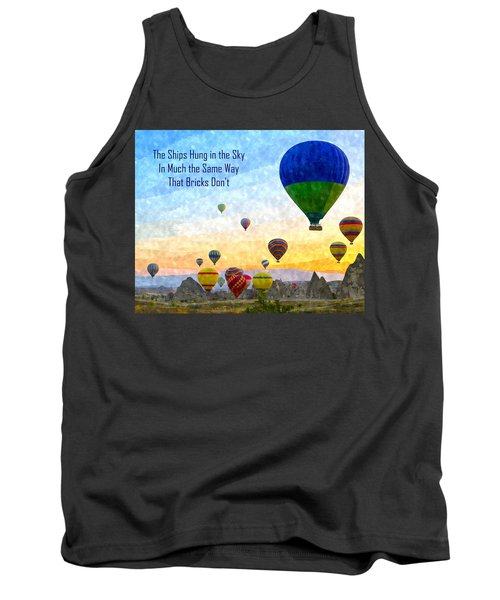 The Ships Hung In The Sky Tank Top