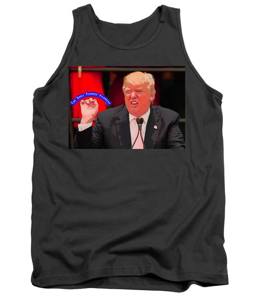 The Small Fingered Vulgarian Tank Top