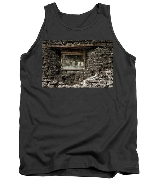 Tank Top featuring the photograph The Sod House by Brad Allen Fine Art
