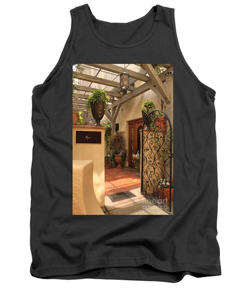 The Spa Tank Top by James Eddy