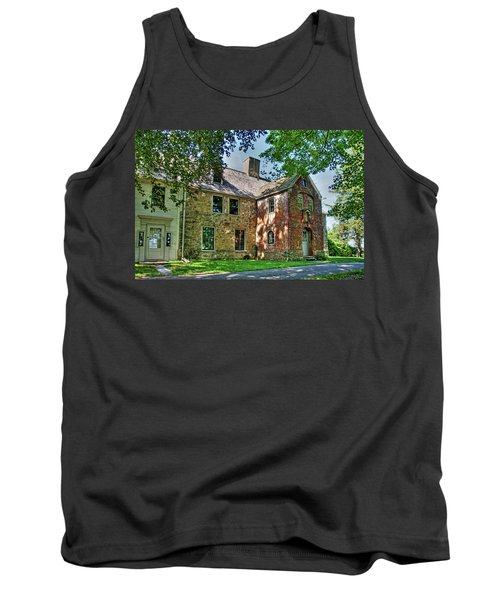 The Spencer-peirce-little House In Spring Tank Top