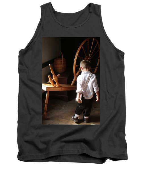The Spinning Wheel Tank Top
