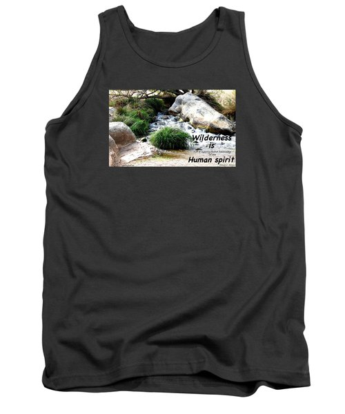 Tank Top featuring the photograph The Spirit Of Water by David Norman