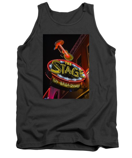 The Stage On Broadway Tank Top