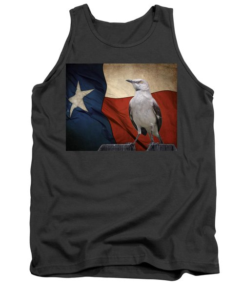 The State Bird Of Texas Tank Top by David and Carol Kelly