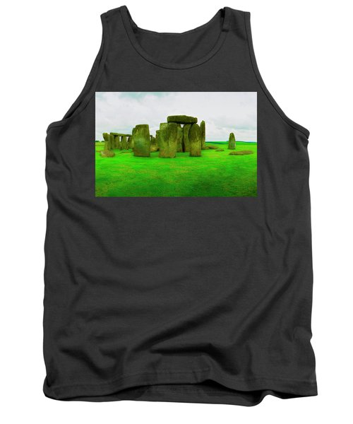 The Stones Tank Top by Jan W Faul