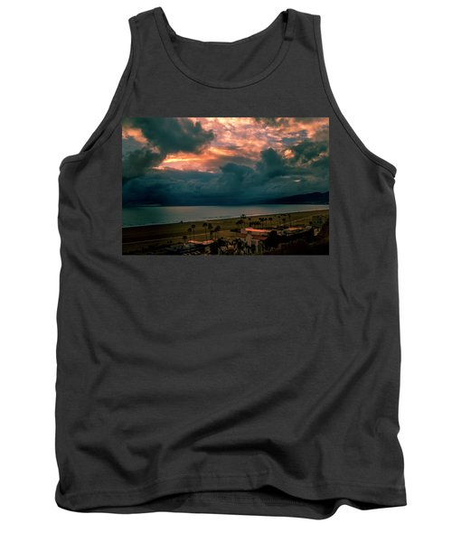 The Storm Moves On Tank Top
