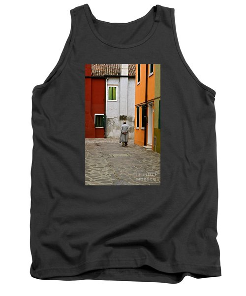 The Stroll Tank Top by Michael Cinnamond