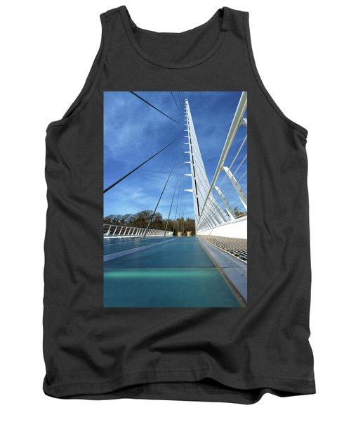 The Sundial Bridge Tank Top by James Eddy