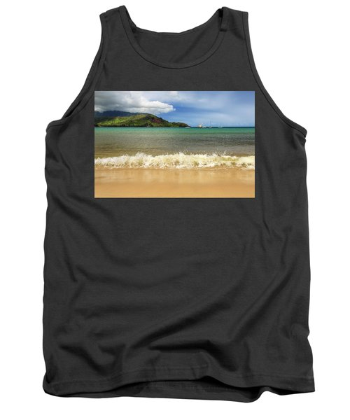 The Surf At Hanalei Bay Tank Top