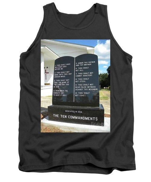 The Ten Commandments Tank Top