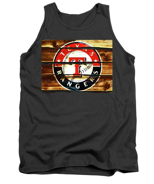 The Texas Rangers 3w Tank Top