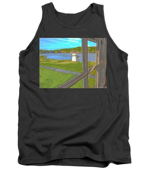 The Thin Line Between Real And Imagined Tank Top