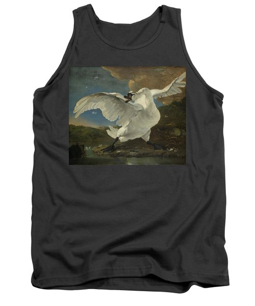 The Threatened Swan, 1650 Tank Top