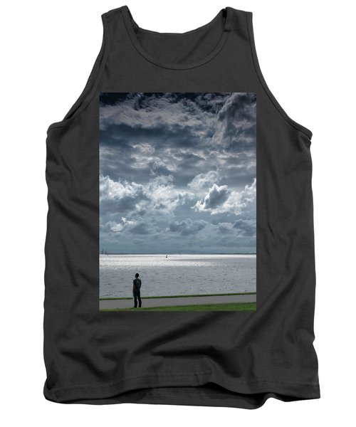 Tank Top featuring the photograph The Threatening Storm by Steven Richman