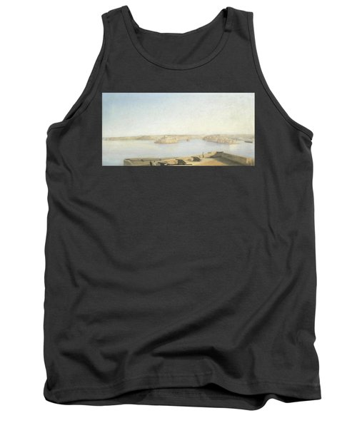 The Three Cities And The Grand Harbour Tank Top