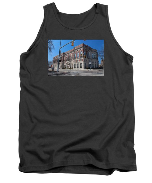 Tank Top featuring the photograph The Toledo Club by Michiale Schneider