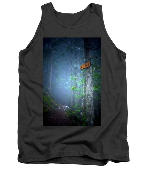 Tank Top featuring the photograph The Trail by Tara Turner