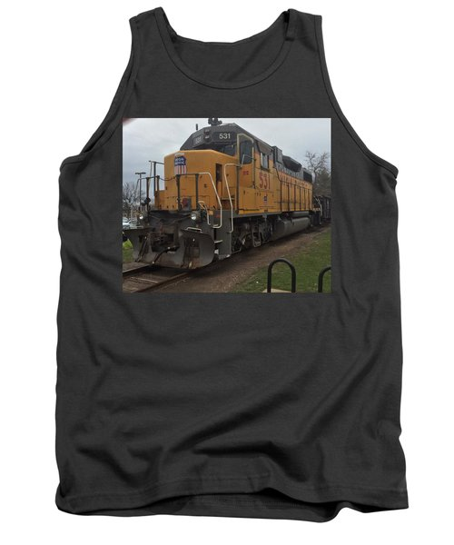 The Train At The Ymca Tank Top