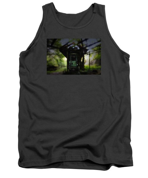 The Tram Leaves The Station... Tank Top